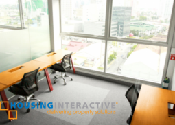 A serviced office space for lease  in Mandaluyong
