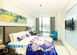 Modern 1 bedroom condo unit for sale at Savoy Hotel Manila