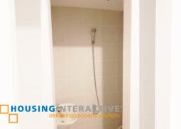 Spacious 1br condo unit for sale in Pasig