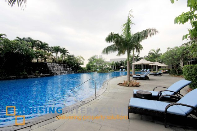 Sophisticated 1br condo unit for rent at The One Shangri la Place Mandaluyong
