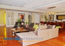 Semi furnished 3BR condo unit for sale in Pacific Plaza Ayala