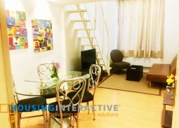 FULLY FURNISHED 2 BEDROOM UNIT FOR RENT AT THE FORBESTOWN HEIGHTS TAGUIG