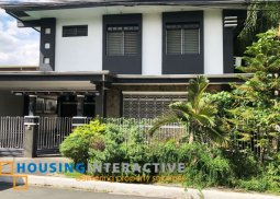 Newly-renovated 3BR house and lot for rent in Merville.
