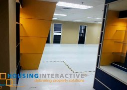Fitted-out office for lease in Alabang