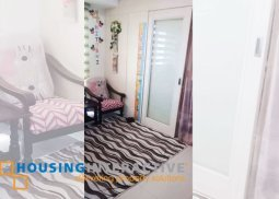 FULLY FURNISHED 1 BEDROOM UNIT FOR SALE AT THE SEA RESIDENCES