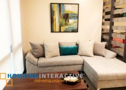 FULLY FURNISHED STUDIO CONDO UNIT FOR RENT AT VIRIDIAN GREENHILLS