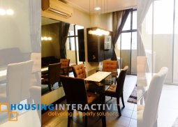 FULLY FURNISHED ONE BEDROOM CONDO UNIT FOR SALE AT PASEO PARKVIEW SUITES