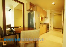 FULLY FURNISHED STUDIO UNIT FOR SALE AT THE GROVE BY ROCKWELL