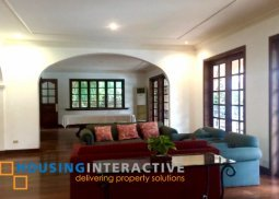 Mediterranean style house and lot for sale at Alabang