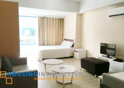 FULLY FURNISHED STUDIO UNIT FOR RENT AT TWO CENTRAL MAKATI