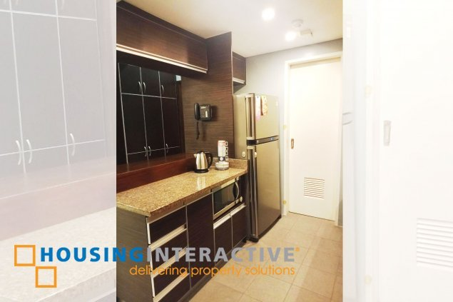 FULLY FURNISHED 2 BEDROOM FOR RENT AT ST. FRANCIS SHANGRI-LA PLACE MANDALUYONG