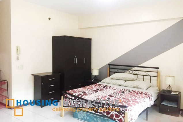 FULLY FURNISHED STUDIO UNIT FOR RENT AT TWO SERENDRA TAGUIG