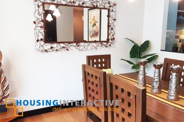 FULLY FURNISHED 1 BEDROOM UNIT FOR RENT AT THE RESIDENCES AT GREENBELT MAKATI