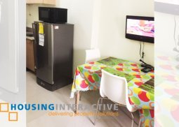 FULLY FURNISHED 1BR CONDO UNIT FOR RENT AT FIELD RESIDENCES