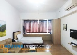 FULLY FURNISHED BRAND NEW STUDIO UNIT FOR RENT/SALE AT ONE SHANGRI-LA PLACE MANDALUYONG