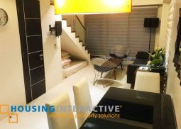 Cozy loft type unit for sale at F1 Hotel